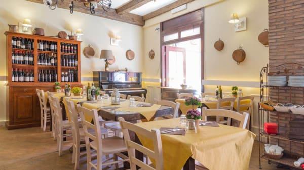 Vista sala - Pasta e Vino osteria, Rome