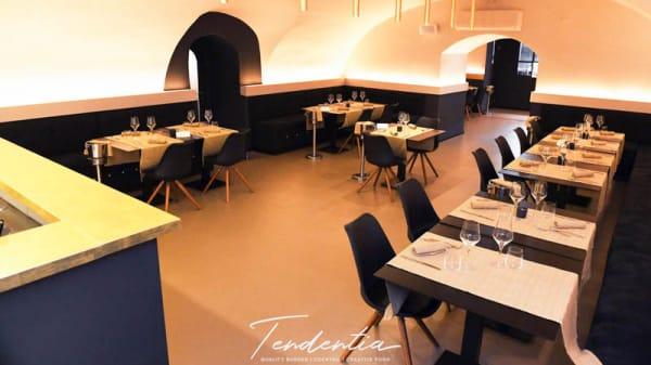 Vista sala - Tendentia Lounge Restaurant, Napoli
