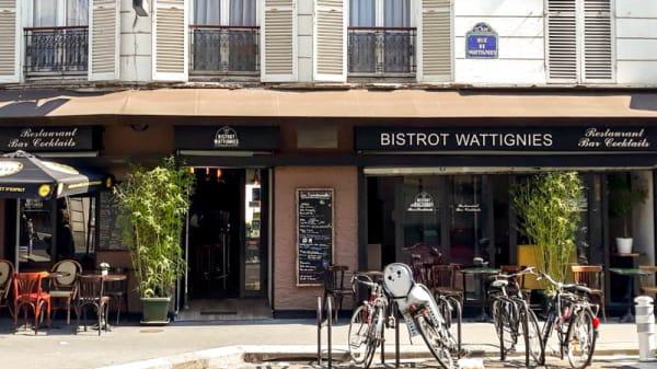 Entrée - Bistrot Wattignies, Paris