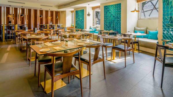 sala do restaurante - Água, Lissabon