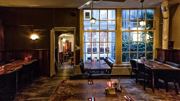 Het restaurant - Restaurant Toscana, Ámsterdam