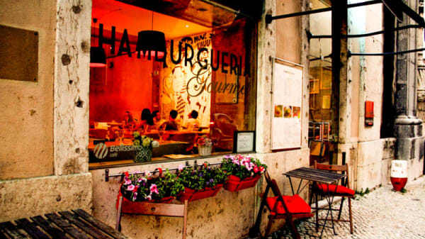 Esplanada - Café do Rio - Hamburgueria Gourmet, Lisbon