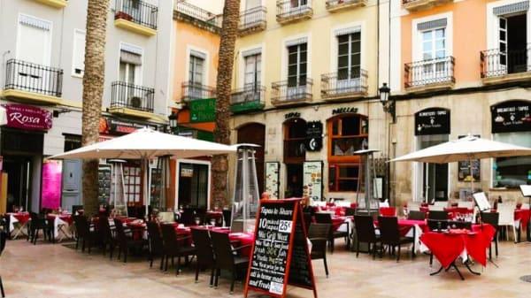 Terraza - Pizzeria Mamma Mia, Alicante (Alacant)