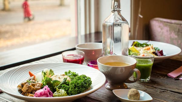 Lunch - Happy M Kitchen, Göteborg
