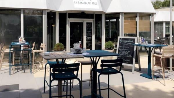 Terrasse extérieure - La Cantine de Fred, Courcouronnes