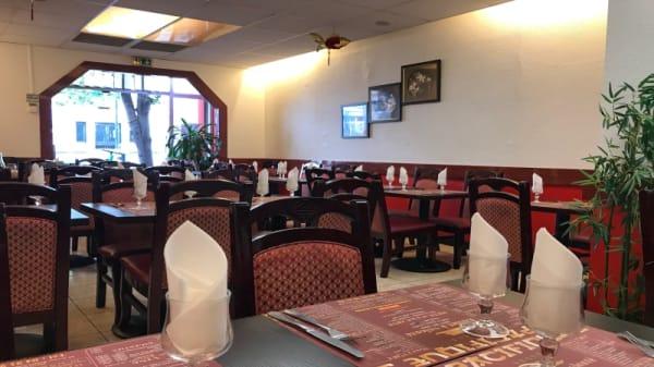 Salle du restaurant - Pacifique 3, Marseille