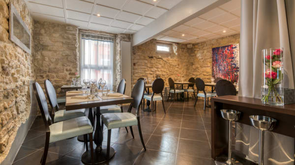 Salle du restaurant - Wauthier by Cagna, Saint-Germain-en-Laye
