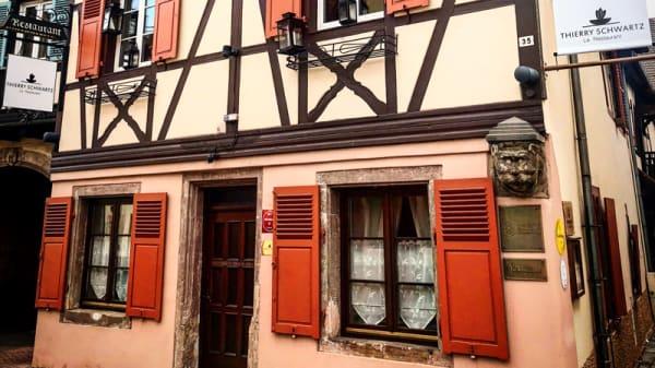 Vue extérieur - Thierry Schwartz - Le Restaurant (ex Bistro des Saveurs), Obernai