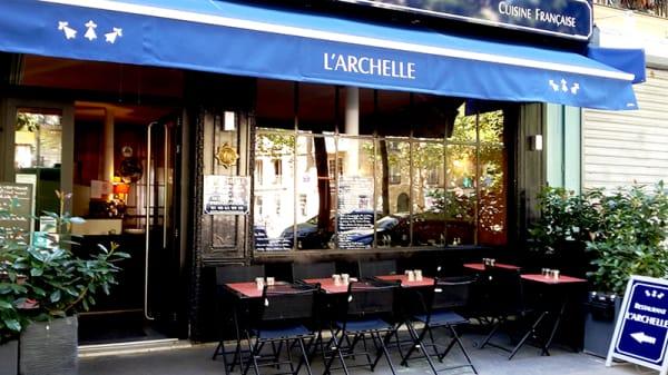 Vue de la terrasse - L'Archelle, Paris