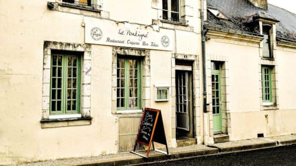 Entrée - Le Pontigné, Baugé en Anjou