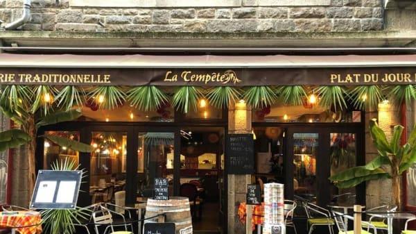 salle - La Tempete, Saint-Malo