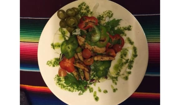 Salad - Taco Al Paso, Hellerup