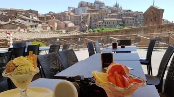 Vista sui tetti di Siena - San Domenico Ristorante, Siena