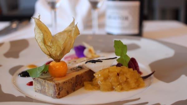 Foie gras et son chutney maison - Le Cheval Blanc, Jossigny