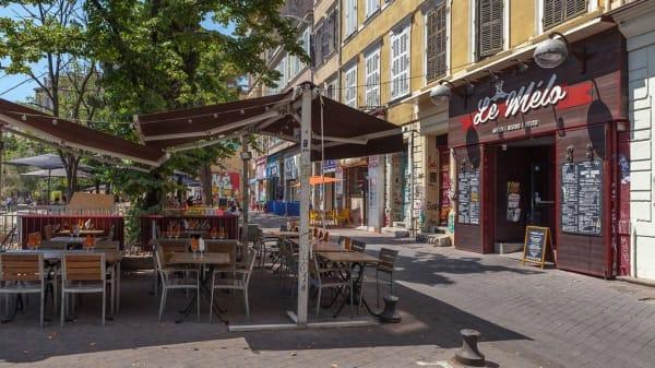 terrasse - Le Melo, Marseille