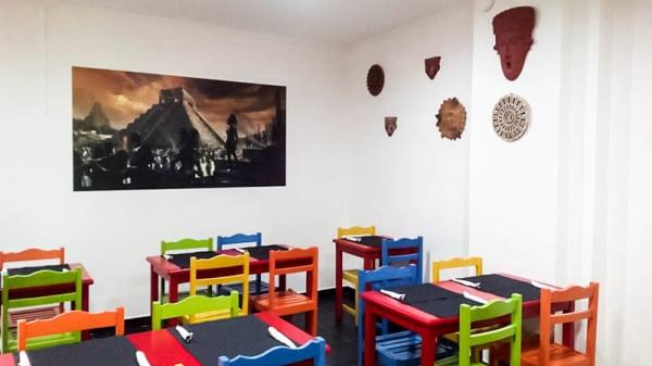 Vista da sala - Sabor a México, Almada