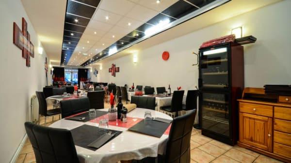 Vue table - Chez LB, Carvin
