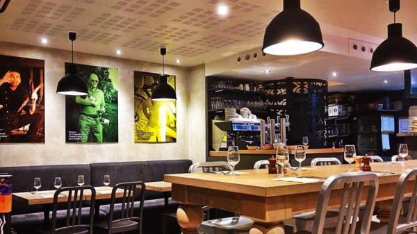 Vue de la salle - Galette Café, Paris