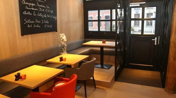 Salle du restaurant - In Den Bloeyenden Wijngaerdt, Asse