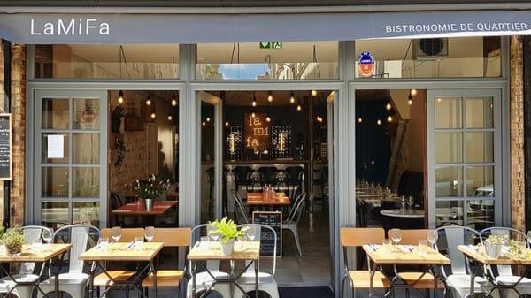 Vue de la salle - La Mi Fa - Bistronomie de Quartier, Paris