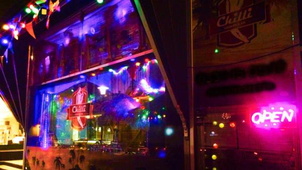The entrance - Chilli Restaurang & Bar, Borås