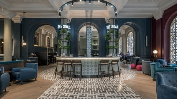 The Soak Restaurant at The Clermont Victoria, London