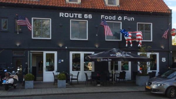 Ingang - Route 66, Veldhoven