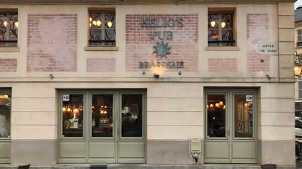Entrée - Helio's Pub, Versailles
