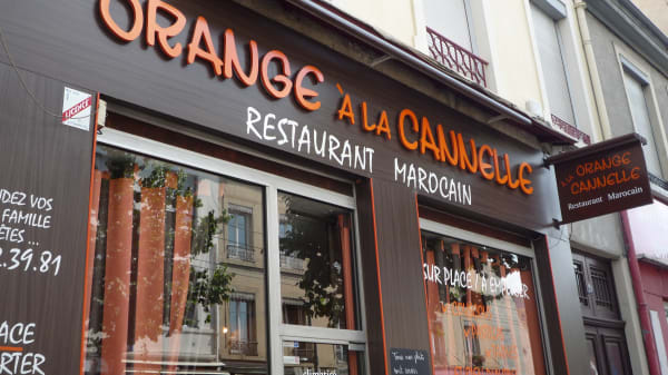 Bienvenue au restaurant Orange à la Cannelle - Orange à la Cannelle, Lyon
