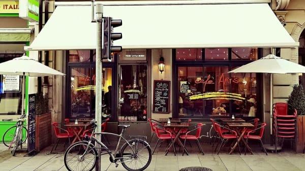 Exterieur - Café Art's, Genève
