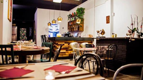 Vista de la sala - Malumore - Cocina honesta, Barcelona