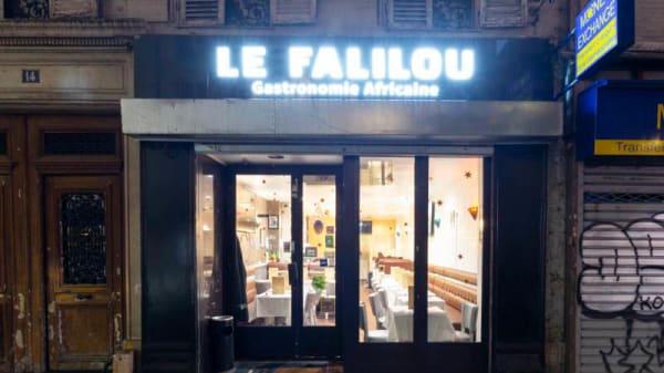 Entrée - Le Falilou, Paris