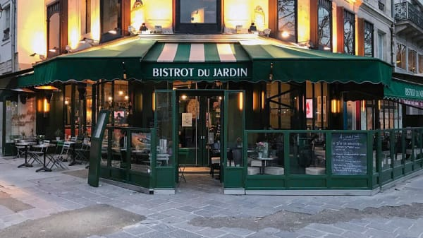 Devanture - Bistrot du Jardin, Paris
