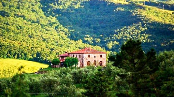 L ambiente - Trattoria Al Rientro, Castiglione d'Orcia