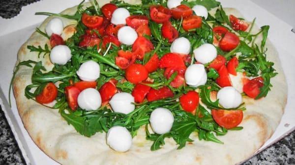 Rucola pomodorini e mozzarelline - Pizza and Food, Milano