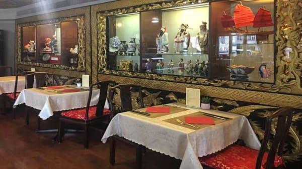 Salle du restaurant - Aux Trois-Bonheurs, Lausanne