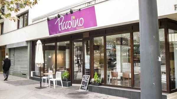 Vue devanture - Piccolino, Courbevoie