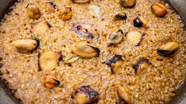Sugerencia del chef - El Portón del Mar, Valencia