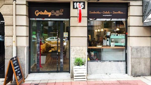 Entrada - Grinding Coffee, Madrid