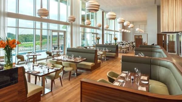 Restaurant at Hilton St George's Park, Burton-on-Trent