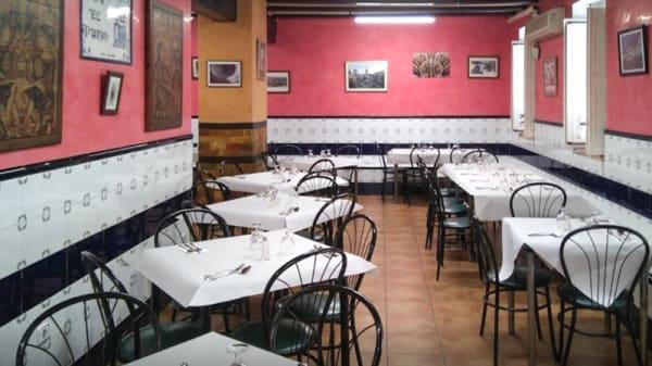 Sala del restaurante - El Patio, Valencia