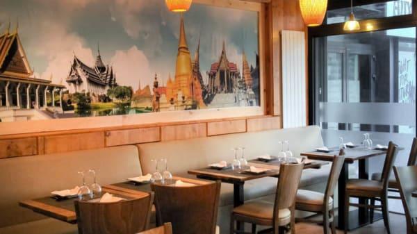 Intérieur - Royal Bangkok, Montreuil