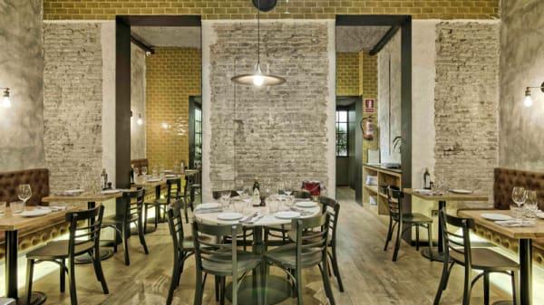 Vista de la sala - Bronzo Bar e Cucina - Eixample, Barcelona