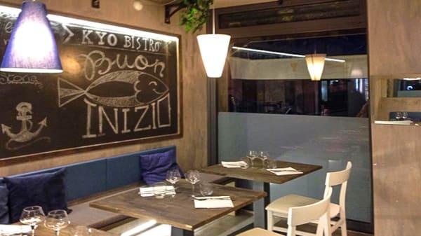 Vista della sala - Pescheria & Cucina KyoFish, Rapallo