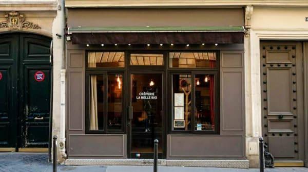 Devanture - Crêperie La Belle Bio, Paris
