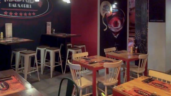 Vista sala - Madrid Bar Grill, Madrid