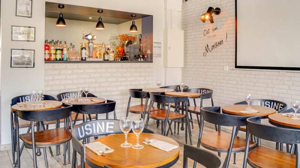 Vue de l'intérieur - O'Studio Café, Romainville