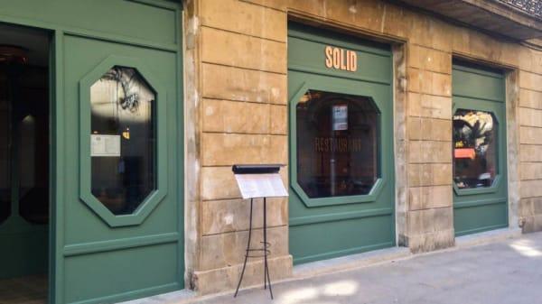 Vista entrada - Solid, Barcelona