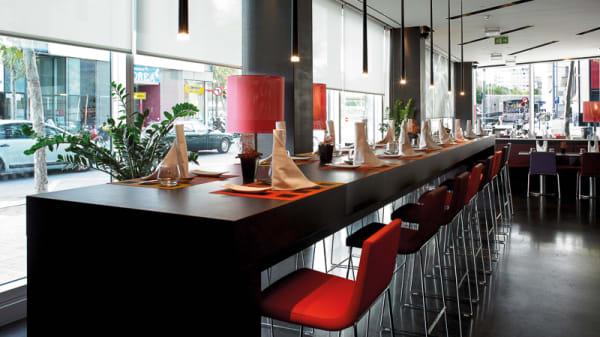 Vista sala - Cocina de Mercado - Novotel Barcelona City, Barcelona