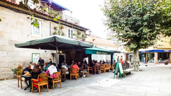 La terraza - Balcón de Floreano, O Grove